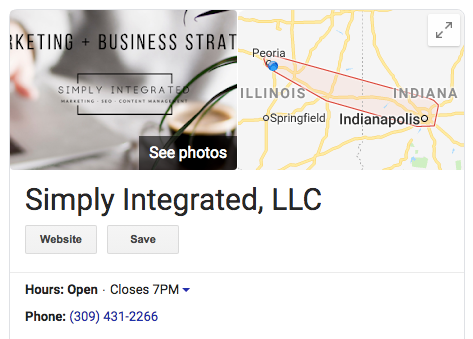 Simply Integrated Marketing Company in Peoria and Indianapolis