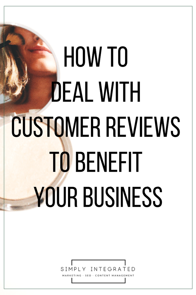 How to deal with customer reviews