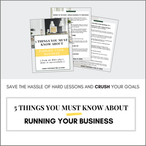 5 Things You Must Know About Running Your Business