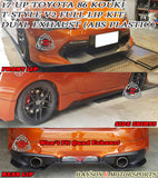 T Style V2 Full Lip Kit w/ Dual Exhaust For 2017-2020 Toyota 86 Kouki - Bayson R Motorsports