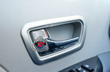 JDM Style Interior Door Handle & Air Vent Trim For 2011-2014 Toyota Sienna - Bayson R Motorsports