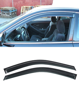 JDM Style Window Visors For 1998-2002 Honda Accord 2 Dr - Bayson R Motorsports