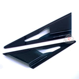 Feels Style Side Mirror Air Duct Vent Visors For 2006-2011 Honda Civic 4 Dr - Bayson R Motorsports