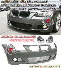 Load image into Gallery viewer, 07-10 BMW E92/E93 2dr M-Tech Style Front Bumper (PP) w/ Fog Lights