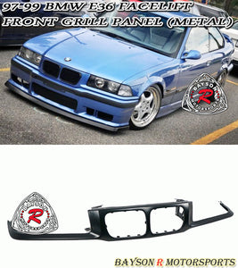 Front Grille Nose Panel Garnish For 1997-1999 BMW 3-Series E36 - Bayson R Motorsports