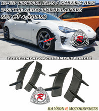 Load image into Gallery viewer, 12-18 Scion FR-S / Toyota 86 T-Style Aero Turbulators (EPDM) - Set of 4