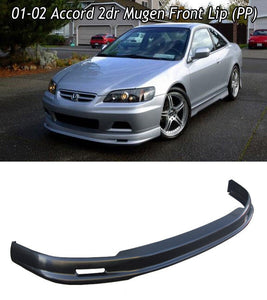 MU Style Front Lip For 2001-2002 Honda Accord 2Dr - Bayson R Motorsports