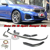 MP Style Front Lip (Matte Black) For 2019-2021 BMW 3-Series G20 / G21 - Bayson R Motorsports