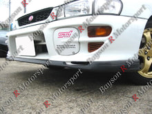 Load image into Gallery viewer, 99-01 Subaru Impreza 2.5RS GC8 STI-Style Front Lip (Polyurethane)