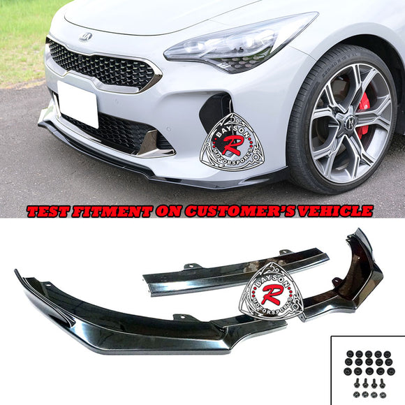 CK Style Front Lip For 2018-2021 KIA Stinger - Bayson R Motorsports
