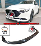 CK Style Front Lip For 2019-2020 Mazda 3 4 Dr - Bayson R Motorsports
