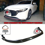 CK Style Front Lip For 2019-2020 Mazda 3 5Dr - Bayson R Motorsports