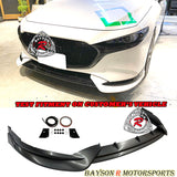 TH Style Front Lip For 2019-2020 Mazda 3 5DR - Bayson R Motorsports