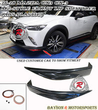 Load image into Gallery viewer, 16-18 Mazda CX3 CX-3 MZ-Style Front Lip Splitter (ABS Plastic)