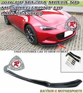 MP Style Front Lip For 2016-2020 Mazda Miata - Bayson R Motorsports