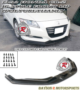 JP Style Front Lip For 2011-2012 Honda CR-Z - Bayson R Motorsports