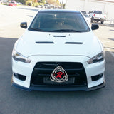 Ral Style Front Lip For 2008-2015 Mitsubishi Evolution 10 - Bayson R Motorsports