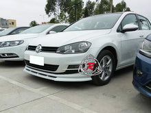 Load image into Gallery viewer, 15-17 Volkswagen Golf MK7 Euro-Style Front Bumper Lip (Polyurethane)