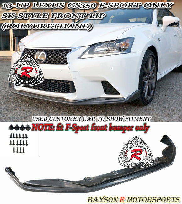 SK Style Front Lip For 2013-2015 Lexus GS - Bayson R Motorsports