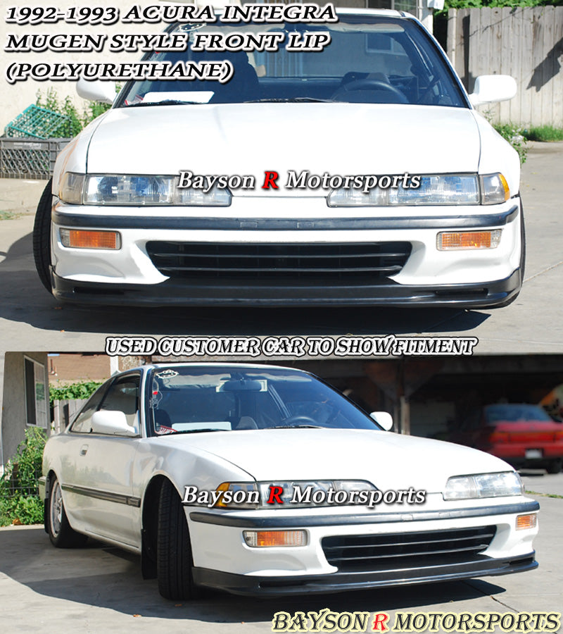 MU Style Front Lip For 1992-1993 Acura Integra