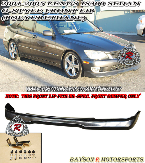 GD Style Front Lip For 2001-2005 Lexus IS - Bayson R Motorsports