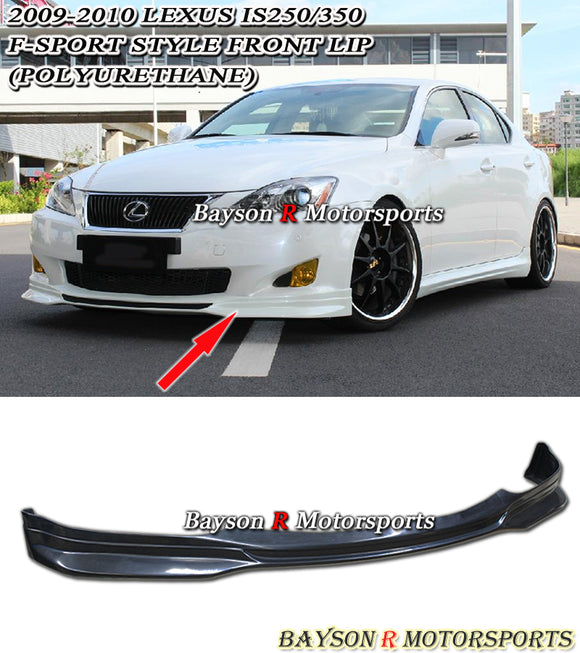 F-Sport Style Front Lip For 2009-2010 Lexus IS - Bayson R Motorsports
