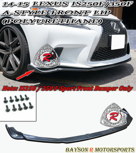 A Style Front Lip For 2014-2016 Lexus IS - Bayson R Motorsports