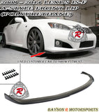 A Style Front Lip For 2008-2014 Lexus IS F - Bayson R Motorsports