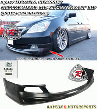 Load image into Gallery viewer, 05-07 Honda Odyssey CityKruiser Mu-Style Front Lip (Polyurethane)