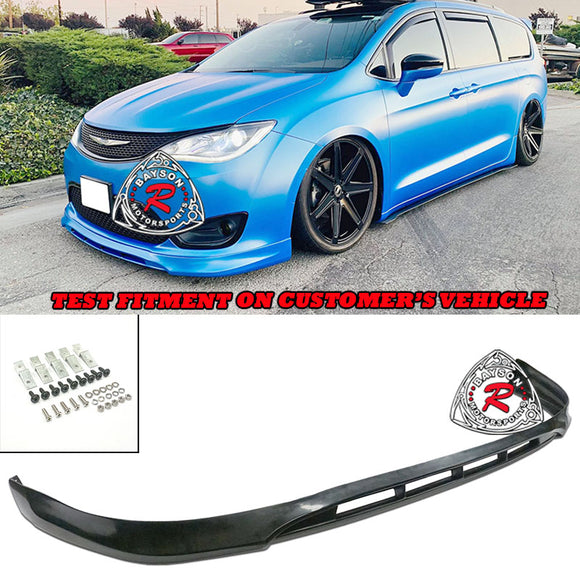 CK Style Front Lip For 2017-2020 Chrysler Pacifica - Bayson R Motorsports
