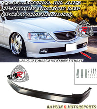Load image into Gallery viewer, 99-04 Acura RL KA9 JP-Style Front Lip (Polyurethane)