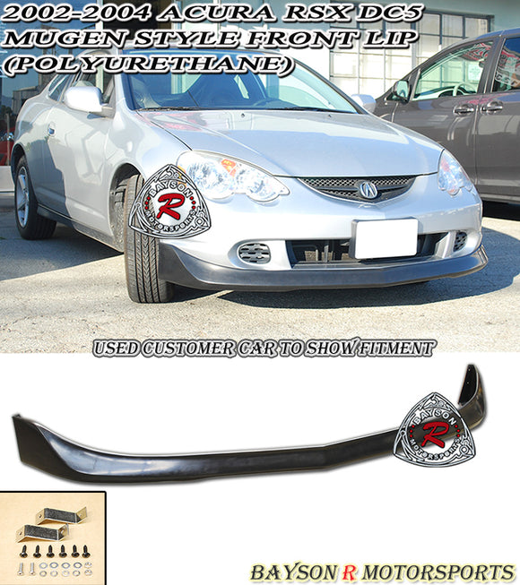 MU Style Front Lip For 2002-2004 Acura RSX - Bayson R Motorsports