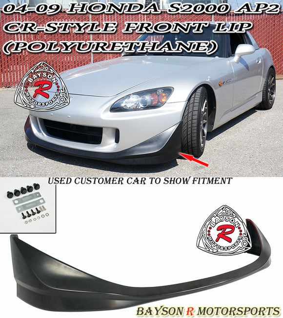 CR Style Front Lip For 2004-2009 Honda S2000 - Bayson R Motorsports