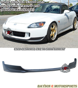 OE Style Front Lip For 2004-2009 Honda S2000 - Bayson R Motorsports