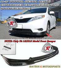 Load image into Gallery viewer, 11-17 Toyota Sienna LE/XLE Citykruiser CK-Style Front Lip (Polyurethane) (Non SE Model)