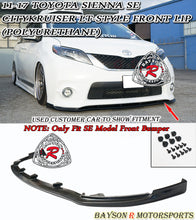 Load image into Gallery viewer, 11-17 Toyota Sienna Citykruiser LT-Style Front Bumper Lip (Polyurethane) (SE Model Only)