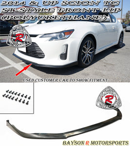 ST Style Front Lip For 2014-2016 Scion tC - Bayson R Motorsports
