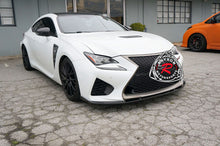 Load image into Gallery viewer, 15-17 Lexus RC F LX-Style Front Lip (Carbon Fiber)