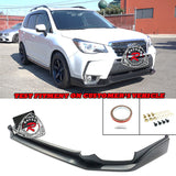 STi Style Front Lip For 2014-2018 Subaru Forester XT - Bayson R Motorsports