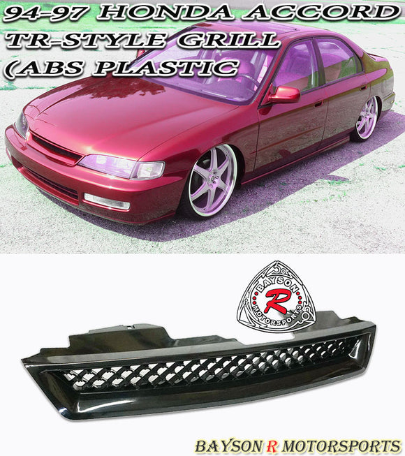 TR Style Grille For 1994-1997 Honda Accord - Bayson R Motorsports