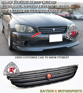 Altezza Style Front Grille For 2001-2005 Lexus IS - Bayson R Motorsports