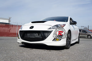 GV-Style Front Grille For 2010-2013 Mazdaspeed3 - Bayson R Motorsports