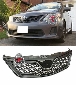 Altis ZR6 Style Front Grille For 2011-2013 Toyota Corolla
