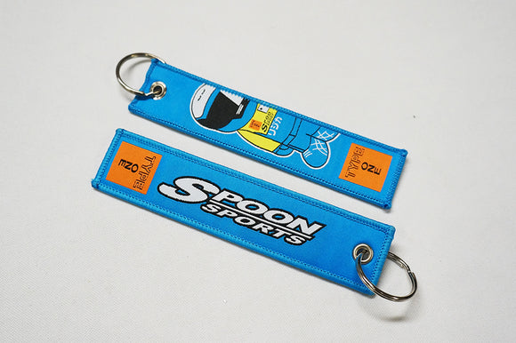 SPN Sport Flight Tag Key Chain (Light Blue) - Bayson R Motorsports