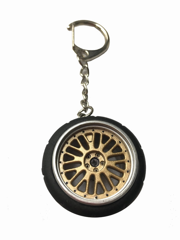 BB Style Wheel Key Chain - Bayson R Motorsports