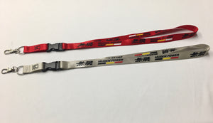 MU Style Lanyard With Metal Clasp (Red or Silver) - Bayson R Motorsports