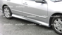 Load image into Gallery viewer, 03-07 Honda Accord 4Dr Sedan Mu-gen Style Side Skirts (ABS Plastic)