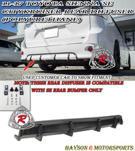 Load image into Gallery viewer, 11-18 Toyota Sienna SE Citykruiser Rear Diffuser (Polyurethane) (SE Model ONLY)
