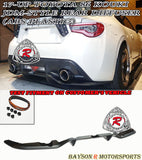 JDM Style Rear Diffuser For 2017-2020 Toyota 86 - Bayson R Motorsports
