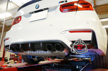 Load image into Gallery viewer, 15-18 BMW F80 M3 / F82 F83 M4 Add-On Rear Diffuser Cover (Carbon Fiber)